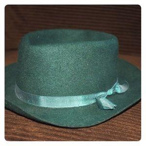 Other - Vintage Salem Cigarettes Green Wool Crusher Hat